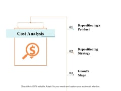 Cost Analysis Ppt PowerPoint Presentation Portfolio Infographics