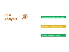 Cost Analysis Ppt PowerPoint Presentation Professional Graphics Design