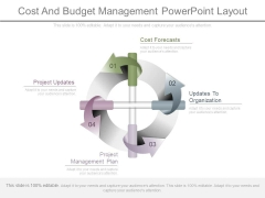 Cost And Budget Management Powerpoint Layout