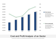 Cost And Profit Analysis Of An Sector Ppt PowerPoint Presentation File Sample PDF