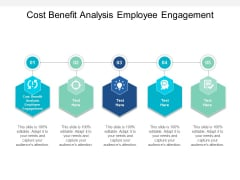 Cost Benefit Analysis Employee Engagement Ppt PowerPoint Presentation Summary Backgrounds Cpb