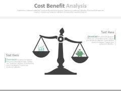 Cost Benefit Analysis Ppt Slides
