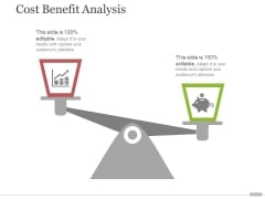 Cost Benefit Analysis Template 2 Ppt PowerPoint Presentation Ideas Skills