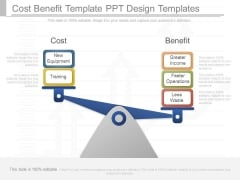 Cost Benefit Template Ppt Design Templates