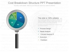 Cost Breakdown Structure Ppt Presentation