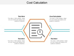Cost Calculation Ppt PowerPoint Presentation Styles Files Cpb