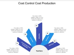 Cost Control Cost Production Ppt PowerPoint Presentation Show Background Images Cpb
