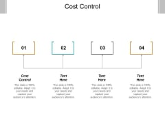 Cost Control Ppt PowerPoint Presentation Infographics Graphic Images Cpb