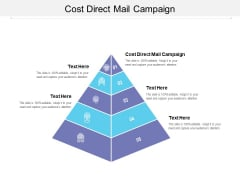 Cost Direct Mail Campaign Ppt PowerPoint Presentation File Brochure Cpb