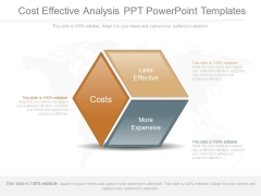 Cost Effective Analysis Ppt Powerpoint Templates