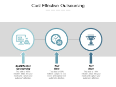 Cost Effective Outsourcing Ppt Powerpoint Presentation Model Cpb