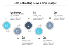 Cost Estimating Developing Budget Ppt PowerPoint Presentation Summary Example Cpb Pdf