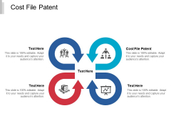 Cost File Patent Ppt PowerPoint Presentation Inspiration Objects Cpb