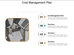 Cost Management Plan Ppt PowerPoint Presentation Infographic Template Gridlines Cpb