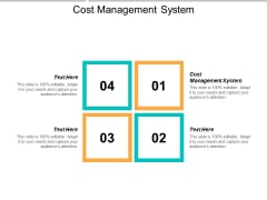 Cost Management System Ppt PowerPoint Presentation File Graphic Images Cpb
