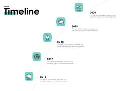 Cost Of Managing Organisational Change Timeline Ppt PowerPoint Presentation Slides Design Inspiration PDF