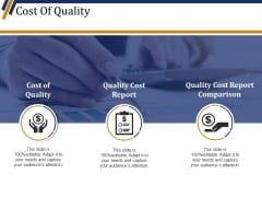 Cost Of Quality Template 1 Ppt PowerPoint Presentation Professional Show