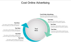 Cost Online Advertising Ppt PowerPoint Presentation Icon Gallery Cpb