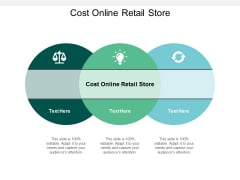 Cost Online Retail Store Ppt PowerPoint Presentation Show Aids Cpb