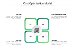 Cost Optimization Model Ppt PowerPoint Presentation Portfolio Clipart Cpb Pdf