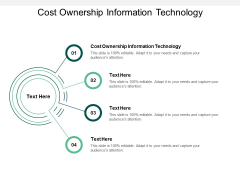 Cost Ownership Information Technology Ppt PowerPoint Presentation File Tips Cpb