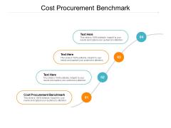 Cost Procurement Benchmark Ppt PowerPoint Presentation Show Clipart Images Cpb Pdf