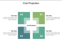 Cost Projection Ppt PowerPoint Presentation Outline Styles Cpb
