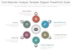 Cost Reduction Analysis Template Diagram Powerpoint Guide