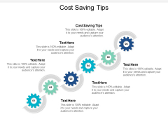 Cost Saving Tips Ppt PowerPoint Presentation Portfolio Vector Cpb