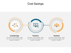 Cost Savings Ppt PowerPoint Presentation File Icons Cpb