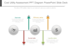 Cost Utility Assessment Ppt Diagram Powerpoint Slide Deck