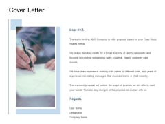 Cover Letter Agenda Ppt PowerPoint Presentation Pictures Show