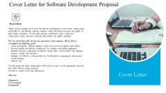 Cover Letter For Software Development Proposal Ppt Ideas Smartart PDF