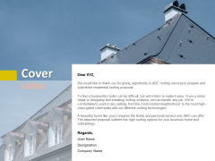 Cover Letter Luxurious Ppt PowerPoint Presentation Portfolio Information