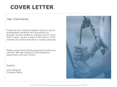 Cover Letter Management Ppt PowerPoint Presentation File Professional