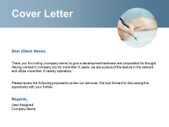 Cover Letter Management Ppt Powerpoint Presentation Infographic Template Graphics Pictures
