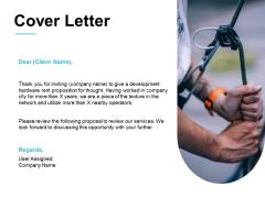 Cover Letter Management Ppt PowerPoint Presentation Model Slide Portrait