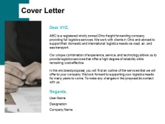 Cover Letter Planning Ppt PowerPoint Presentation Background Images