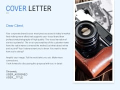 Cover Letter Technology Marketing Ppt PowerPoint Presentation Slides Themes