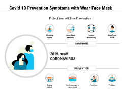 Covid 19 Prevention Symptoms With Wear Face Mask Ppt PowerPoint Presentation Styles Guidelines PDF