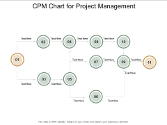 Cpm Chart For Project Management Ppt PowerPoint Presentation Portfolio Background Image