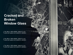 Cracked And Broken Window Glass Ppt PowerPoint Presentation Layouts Clipart