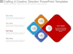 Crafting A Creative Direction Powerpoint Templates