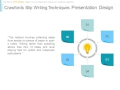 Crawfords Slip Writing Techniques Presentation Design