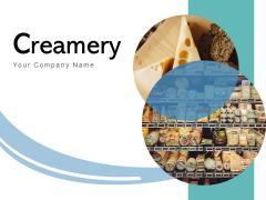 Creamery Super Market Product Milk Bottles Ppt PowerPoint Presentation Complete Deck