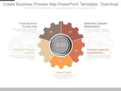 Create Business Process Map Powerpoint Templates Download