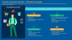 Create Customer Persona Editable Template Ideas PDF