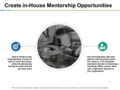 Create In-House Mentorship Opportunities Ppt PowerPoint Presentation Icon Outfit