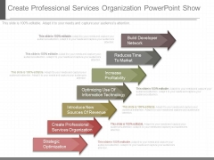 Create Professional Services Organization Powerpoint Show