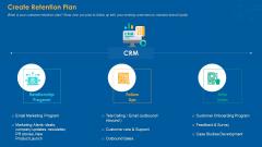 Create Retention Plan Designs PDF